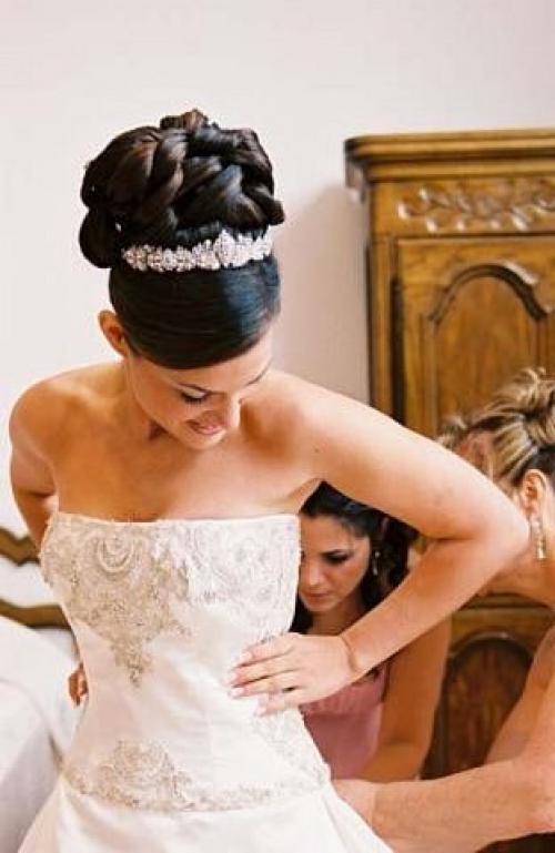 свадебные прически ташкент фото