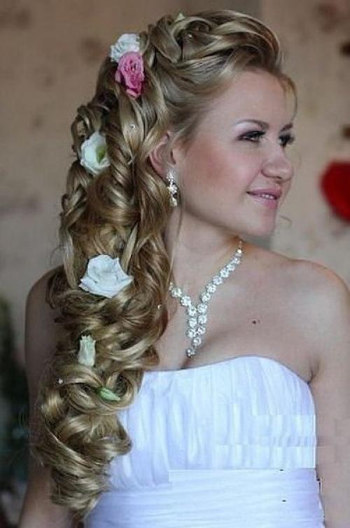 Причёски на выпускной на длинные волосы косы