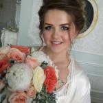 Роскошная свадьба. Свадебная прическа.