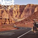 West Dressed: фотосессия Виктора демаршелье для US Glamour October 2015.