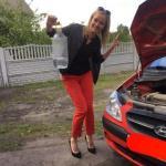 """Я с очередным своим """"Подвигом"""" Autolady так получилось, что очередные тяготы обслуживания автомобиля легли на мои женские хрупкие плечи."""