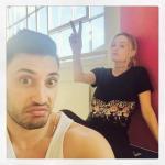 """Instagram. (Фото 1) """"лицо @Pernicegiovanniofficial, когда я прошу две минуты перерыва."""
