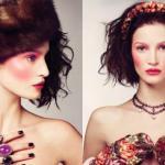 Русский макияж отличается одной интересной особенностью: ему свойственно переходить из крайности в крайность.