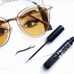 Тонкости нанесения макияжа под очки?