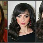 Окрашивание и коррекция бровей, макияж, причёски.