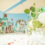 Символическая свадьба на Кипре на берегу протараса?
