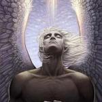 """""""Ангел - Хранитель"""". На моей ладони лежит маленький, резной ключик с красивыми вензелями."""