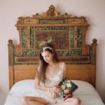 Утро невесты.  Будуарная фотосессия.