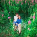 Фотосессия в Иван чае и ромашках, хочу сказать что период цветения еще примерно 1. 5 недели!