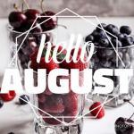И вот на календаре уже второе августа, красавицы?
