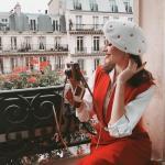 Интересная изюминка парижского стиля -.