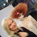 Добрый день!  Меня зовут Александра - я стилист, парикмахер, визажист.