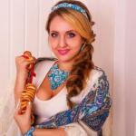 Модель: Анна янбикова.