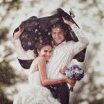 Что делать, если в день свадьбы идёт дождь!