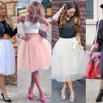 Вот уже несколько сезонов на пике популярности находятся пышные юбки.