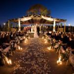 На грядущий новый свадебный тренд - ночная свадьба.