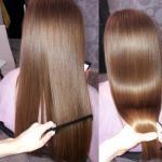 Акция?  Кератиновое выпрямление волос 1500 любая длина и густота.