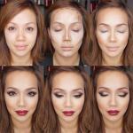 Кaк скрыть недостатки лица, с помощью косметики?
