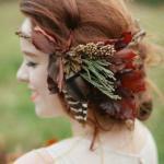 Стиль. Насыщенные цвета и ощущение легкой таинственности - то, что отличает образ осенней невесты от всех остальных.