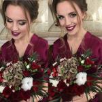 Невеста алина и потрясающий цвет свадьбы?