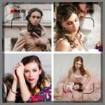Красоточки) прически, макияж от 400 р) приятные цены для невест всю осень выезд.
